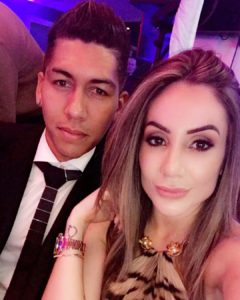 Roberto Firmino's Wife