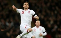 Lampard Celebrating For Engalnd