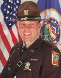 Official headshot for Col. Matt Langer, the Minnesota State Patrol chief