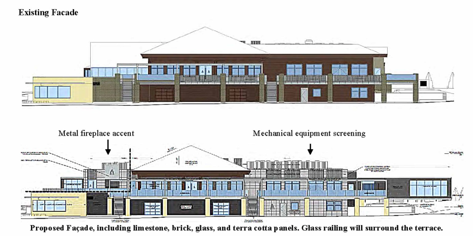 Elevations of proposed Olympic Hills renovation