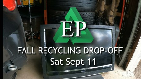graphic recycling drop-off