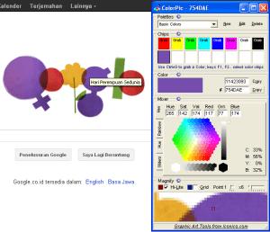 menggunakan colorpic