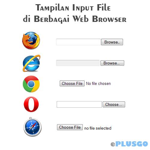 Mendesain Input File dengan CSS dan jQuery