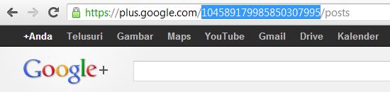 Menyingkat URL Google+ Untuk Promosi