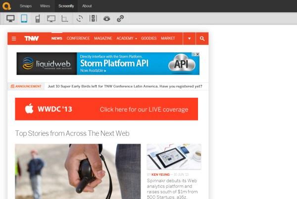 Tools Untuk Menguji Desain Web Responsive - Screenfly