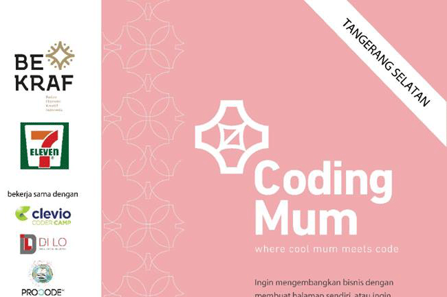 Event Kelas Coding Mum