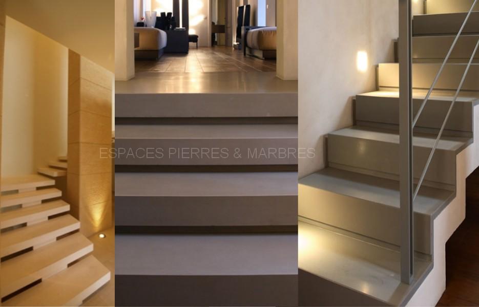 Escaliers  Espaces Pierres  Marbres