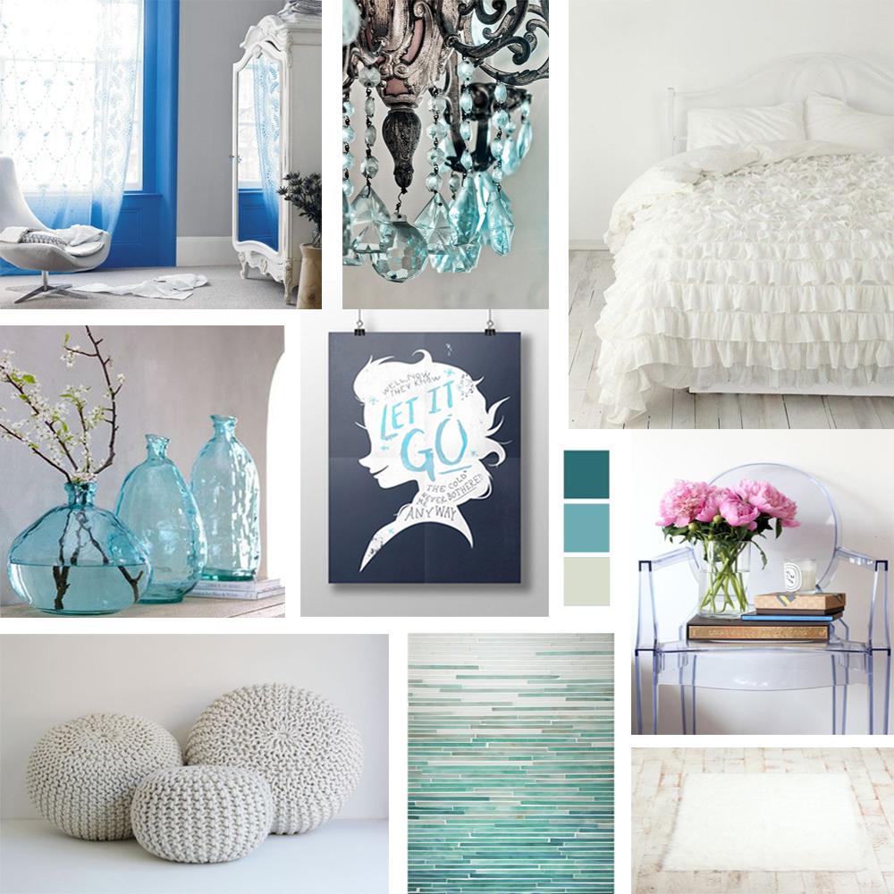 Disneys Frozen Bedroom Decor Mood Board  Epoch Design
