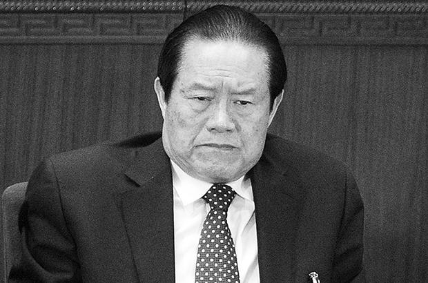 China, Partido Comunista Chinês, crime organizado, repressão, campanha anticorrupção, Zhou Yongkang, Jiang Zemin, gangues - Antes de sua sentença de prisão perpétua por corrupção, Zhou Yongkang participa da sessão de abertura do Congresso Popular Nacional do Partido Comunista Chinês em 5 de março de 2012 (Liu Jin/AFP/Getty Images)