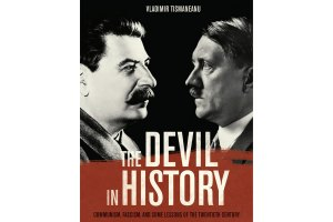 "Capa do livro ""The Devil in History: Communism, Fascism and Some Lessons of the Twentieth Century"", do professor Vladimir Tismaneanu (Divulgação)"