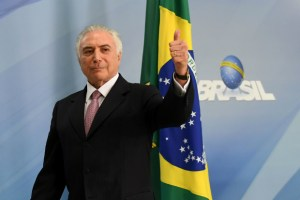 Presidente Michel Temer (EVARISTO SA/AFP/Getty Images)