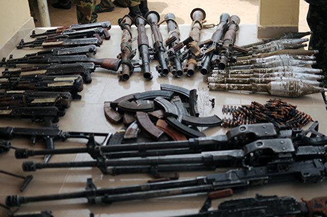 Handfeuerwaffen Foto: Getty Images