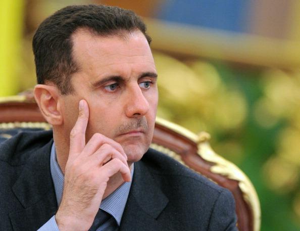 Syrien-Führer Bashar al-Assad Foto: SERGEI SUPINSKY/Getty Images