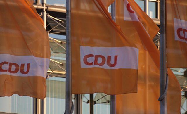 CDU-Flaggen Foto: über dts Nachrichtenagentur