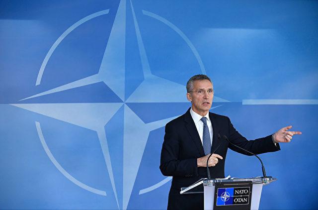 NATO-Generalsekretär Jens Stoltenberg am 6. Dezember in Brüssel. Foto: JOHN THYS/AFP/Getty Images