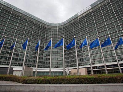 Sitz der EU-Kommission:EU-Kommissar Dimitris Avramopoulos drängt darauf, das sogenannte Dublin-Verfahren wieder in Gang zu setzen.Foto:/dpa
