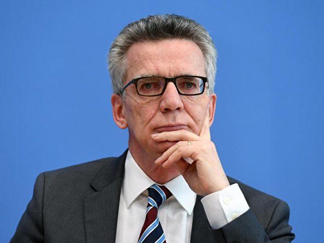 Im Kampf gegen den Terror möchte Bundesinnenminister Thomas de Maizière die Kompetenzen des Bundes stärken. Foto: Soeren Stache/dpa