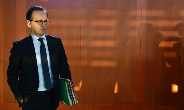 Bundesjustizminister Heiko Maas. Foto: JOHN MACDOUGALL/AFP/Getty Images