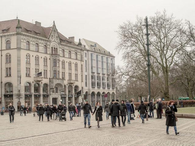 Seit einem Jahr treiben Morde auf offener Straße die südschwedische Stadt um. Foto: David Ramos/Getty Images