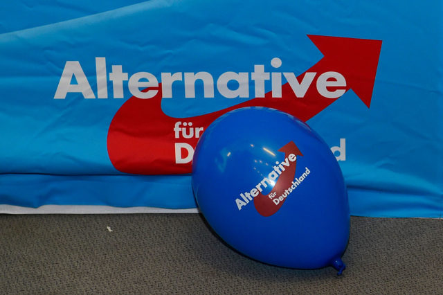 AfD-Logo Foto: JOHN MACDOUGALL/AFP/Getty Images