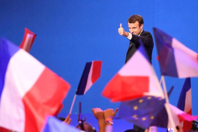 Präsidentschaftswahlen 2017 in Frankreich. Foto: ERIC FEFERBERG/AFP/Getty Images