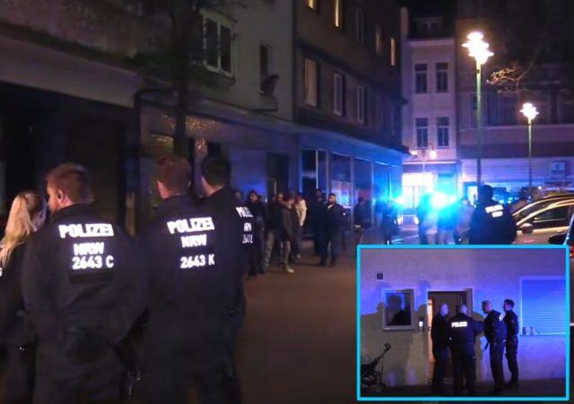 Mord in Duisburg - Ein 14-jähriger Junge stirbt an einem Messerstich vor seiner Haustür. Foto: Screenshot/Youtube / EPT