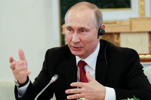 Der russische Präsident Wladimir Putin. Foto: DMITRI LOVETSKY/AFP/Getty Images