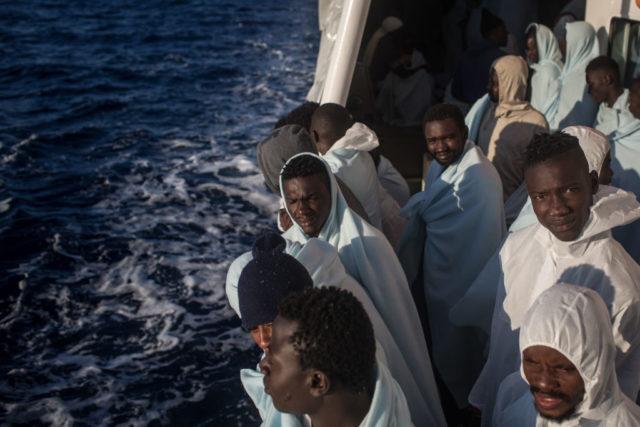Migrantenkrise in Europa Foto: Chris McGrath/Getty Images