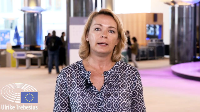 Ulrike Trebesius, EU-Abgeordnete. Foto: Screenshot / Facebook /  Ulrike Trebesius, MEP