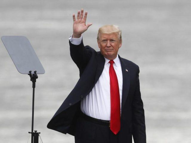 US-Präsident Trump:«James Comey hat viel davon bestätigt, was ich gesagt habe, und er hat Dinge gesagt, die nicht wahr sind.» Foto: John Minchillo/dpa