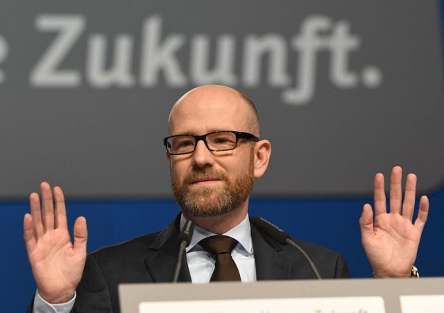 CDU-Generalsekretär Peter Tauber Foto: PATRIK STOLLARZ/AFP/Getty Images