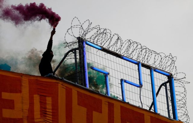 In Deutschland wird der Linksextremismus verharmlost. Foto: ODD ANDERSEN/AFP/Getty Images