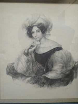 Княгиня Зинаида Александровна Волконская