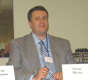 Гаэль Мулек (Департамент политических отношений и политики безопасности с Украиной и Россией). Фото: Великая Эпоха