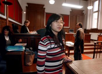 19 декабря французский суд вынес приговор китайской студентке Хуан Лили. Фото: PIERRE VERDY/AFP/Getty Images