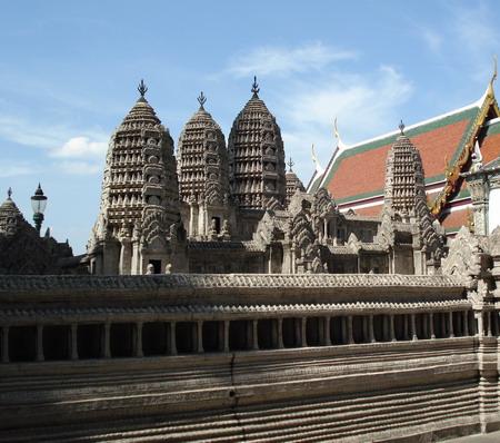 Макет Королевского дворца в прежней столице Бангкока Айютайе, разрушенного бирманцами в 18 веке. Фото: Александр Карпов