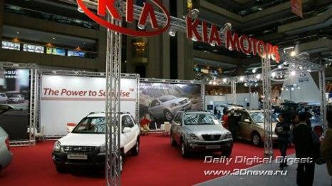 Стенд корейской компании KIA. Фото: 3dnews.ru