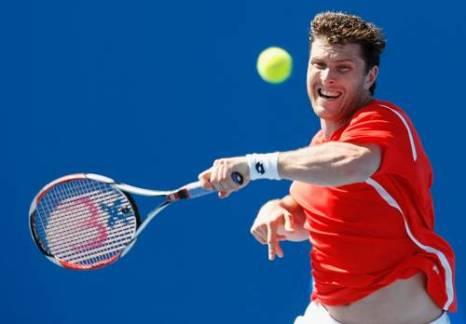 Беррер Михаэль (Германия) (Michael Berrer of Germany) во время открытого чемпионата Австралии по теннису. Фото: Quinn Rooney/Getty Images