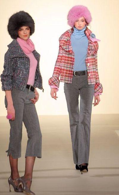 Коллекция одежды японской фирмы Musee DUji, осень-зима 2008. Фото: Getty Images