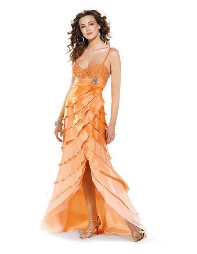 Роскошные летние вечерние платья. Фото с efu.com.cn