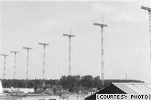 Антенны постановки радиопомех в Балашихе. Фотография из статьи Римантаса Плейкиса