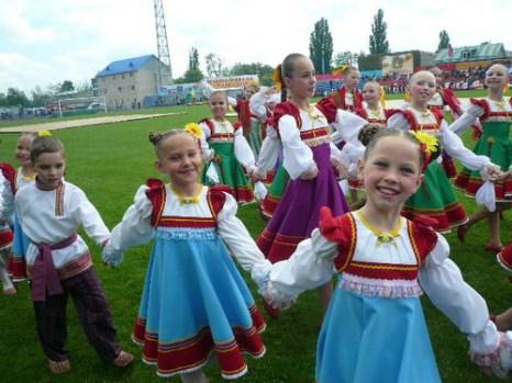 Юные танцоры-ставропольцы. Фото: Елена Захарова/Великая Эпоха