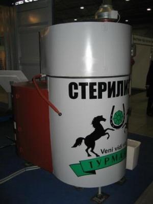 Термический стерилизатор медицинских отходов «ТС»