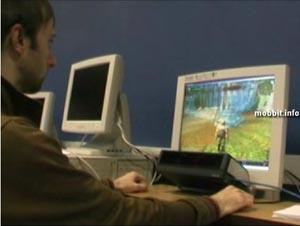 Кадр из демонстрации работы системы Университета Де Монфор на примере игры World of Warcraft. Фото с сайта mobbit.info