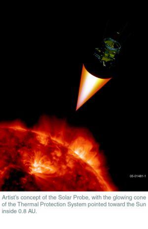 NASA отправит зонд на Cолнце. Фото: NASA