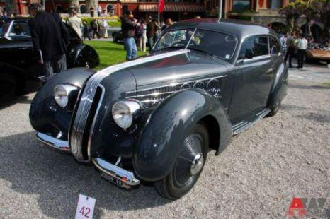 Alfa Romeo 6C 2300 B Pescara Berlinetta Pinin Farina (1937). Фото: autoweek.ru