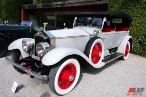 Rolls-Royce Silver Ghost Pall Mall Tourer Brewster (1925). Фото: autoweek.ru