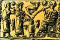 История пива. Вот так вавилоняне пили пиво.