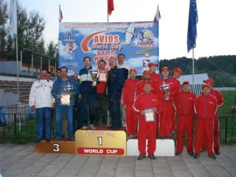Команды призеры. Фото: www.fasr.ru
