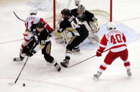 В Питтсбурге прошёл третий матч финальной серии. Фото: Dave Sandford/Getty Images